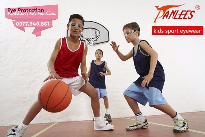 kính cận bóng rổ trẻ em