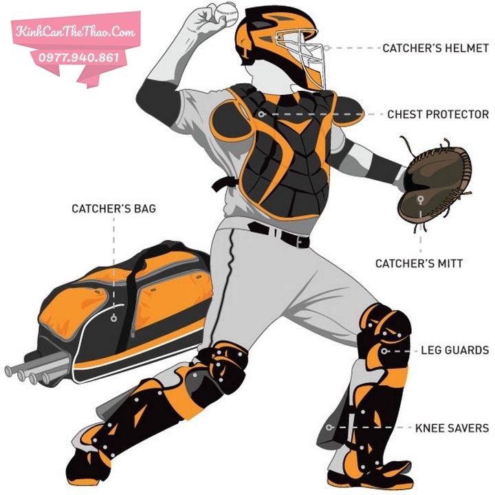 bộ đồ bảo hộ cầu thủ bóng chày