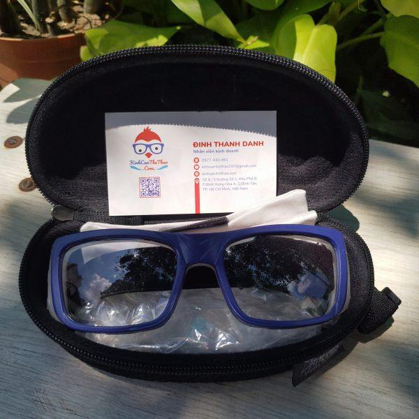 kính thể thao panlees jh068 màu xanh