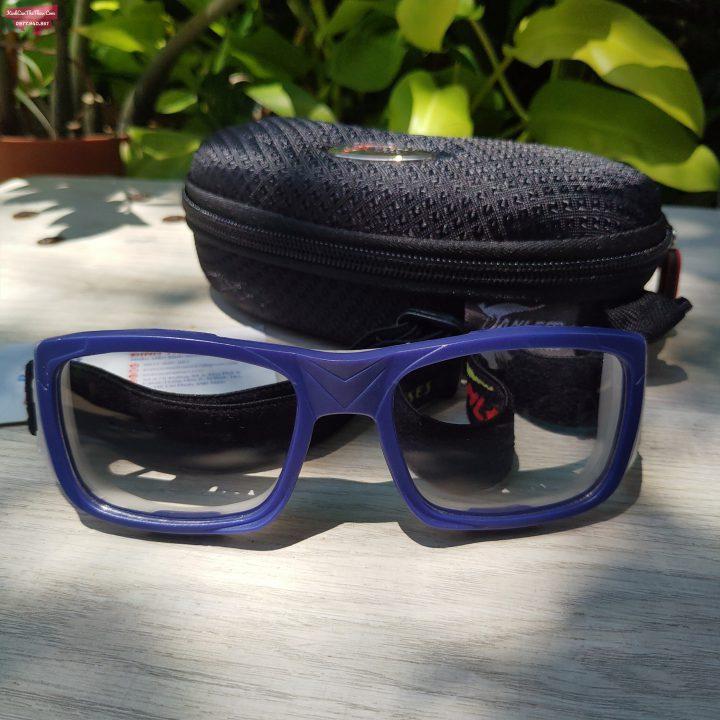 Mắt kính thể thao tphcm Panlees JH068 màu xanh